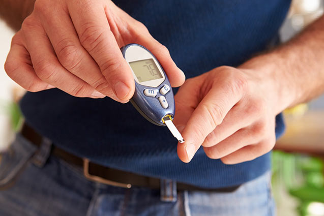 Diabetic blood sugar levels