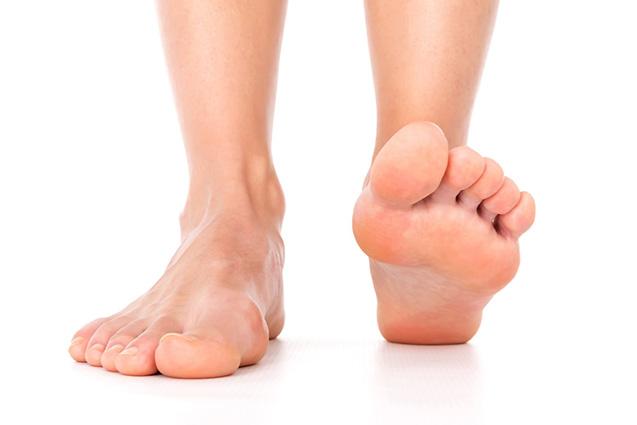 Perform Podiatry Feet Stepping Forward
