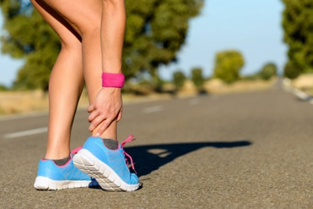 Achilles tendon pain - treatment provided at Perform Podiatry - Moonee Ponds foot clinic